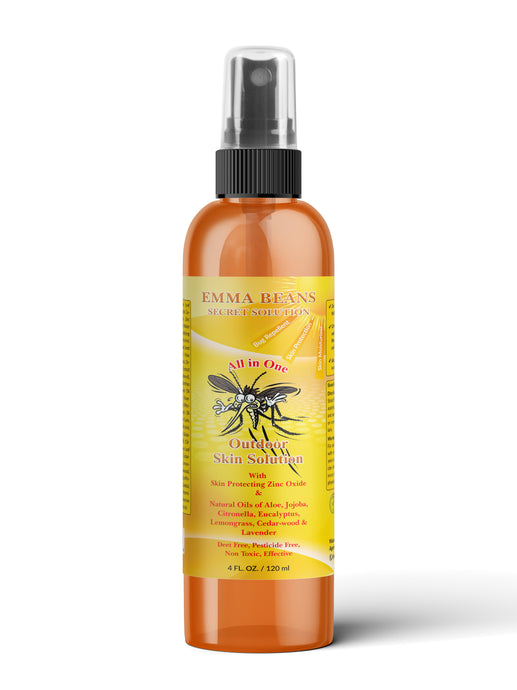 A  All In One    Outdoor Skin Solution  - Sun,Insect,Dry Skin Protection