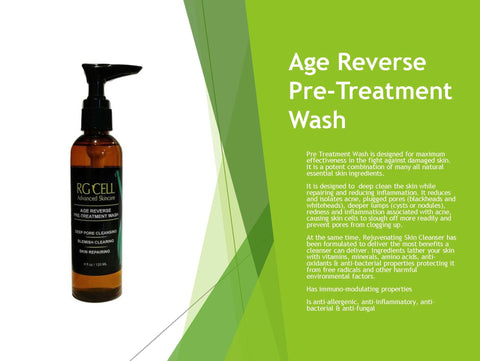 Age Reverse Pre-Treatment Wash (Available in 4oz,8oz,&36oz)