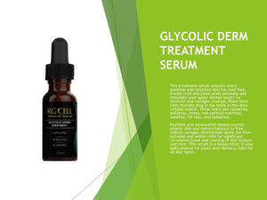 GLYCOLIC DERM TREATMENT SERUM (Available in 15ml, 60ml, & 120ml)
