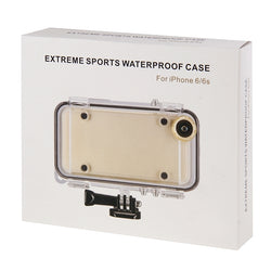 iPhone Waterproof GoPro Case