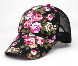 Women Floral Baseball Hat
