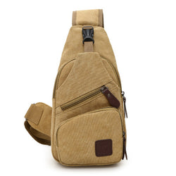 Canvas Male Breast Bag