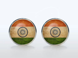 Vintage World National Symbolic Flag Cufflinks
