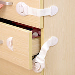 10Pcs Kids Baby Drawer Wardrobe Door Lock