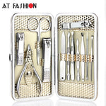 12pcs Manicure Set Nail Care Tools