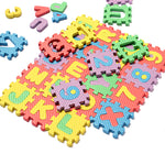 36 Pieces Foam Alphabet Letters Numbers