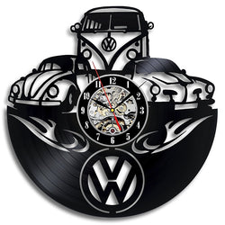 3D Volkswagen Car Wall Clock
