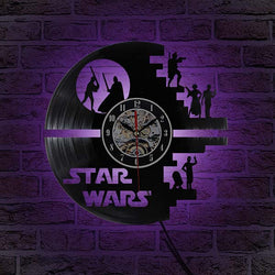 3D Star Wars Wall Clock