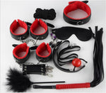 10PCS/set Leather Sex Set