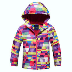 Girl Children Colored Sport Jacket