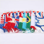 10 Pairs Countries Flag Socks