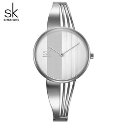 SHENGKE Women Bracelet Watch
