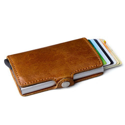 BAIBU Leather Credit Card Holder