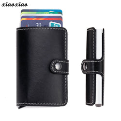 HTNBO Leather Credit Card Holder