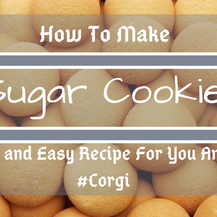 How To Make Sugar Cookie: The Best and Easy Breakfast For You And Your Corgi