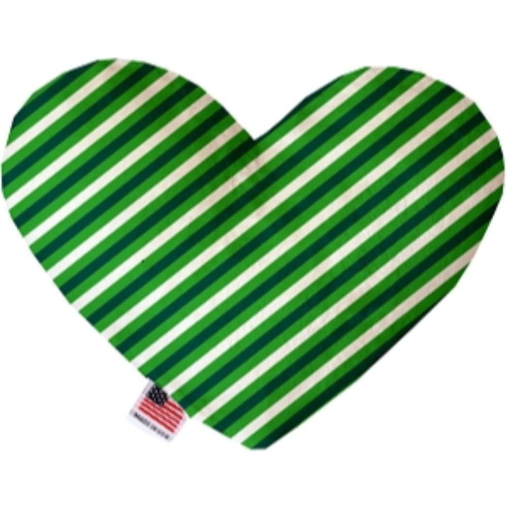 St. Patrick's Stripes Heart Dog Toy