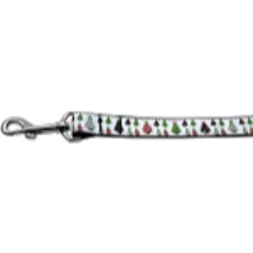 Designer Christmas Trees Nylon Dog Leashes