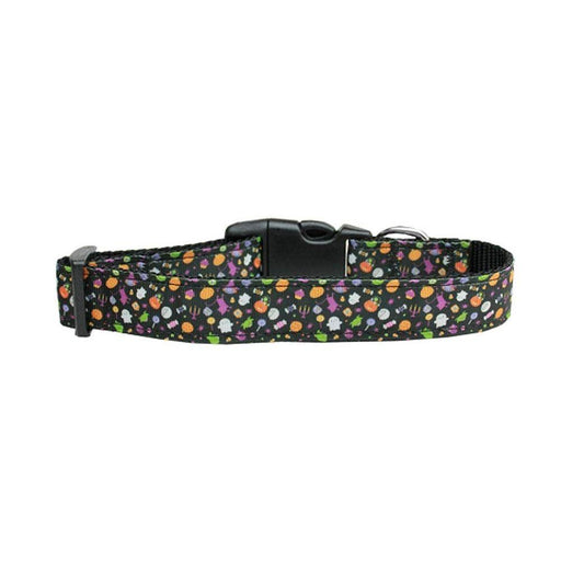 Halloween Confetti Nylon Dog Collar