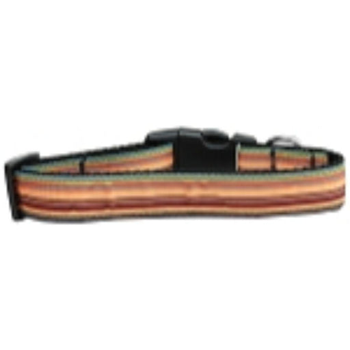 Autumn Stripes Nylon Cat Collar