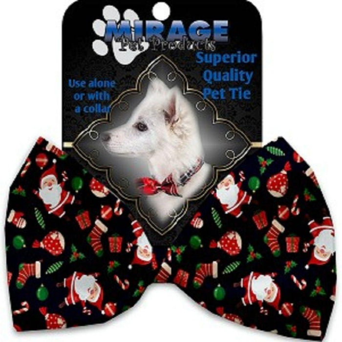 Santa Fun Pet Bow Tie