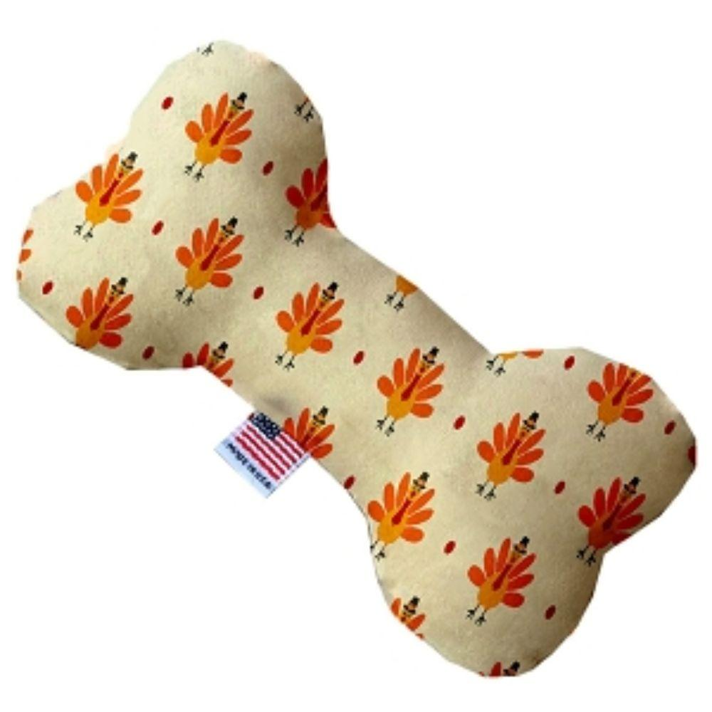 Turkey Trot Bone Dog Toy
