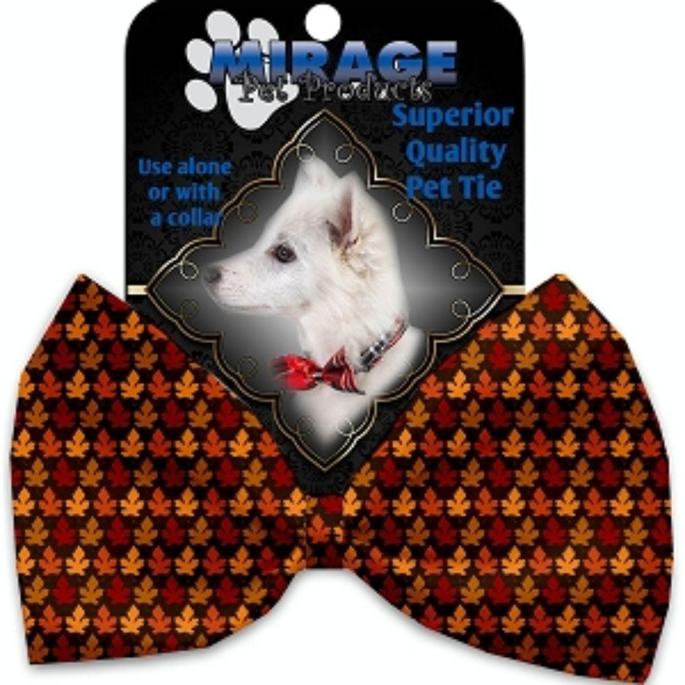 Autumn Leaves Pet Bow Tie
