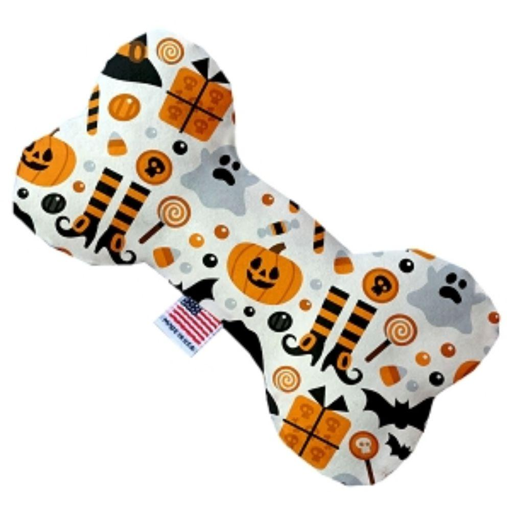 Classic Halloween Stuffing Free Bone Dog Toy
