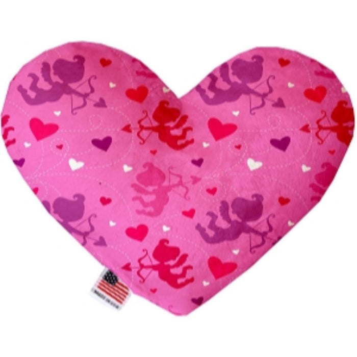 Cupid Canvas Heart Dog Toy
