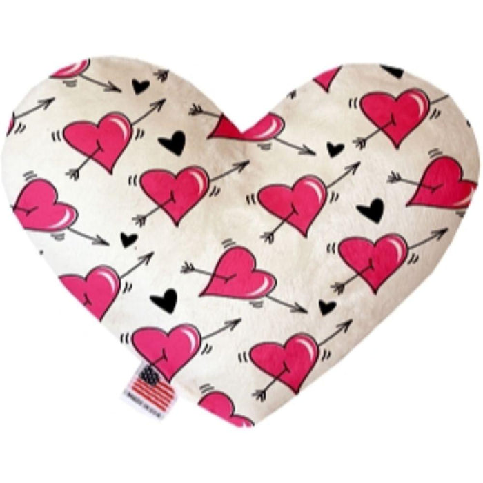 Hearts and Arrows Heart Dog Toy