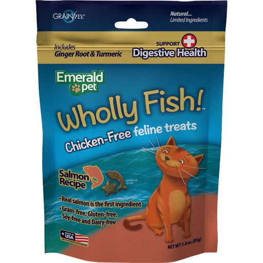 Wholly Fish Chicken-free Cat Treats