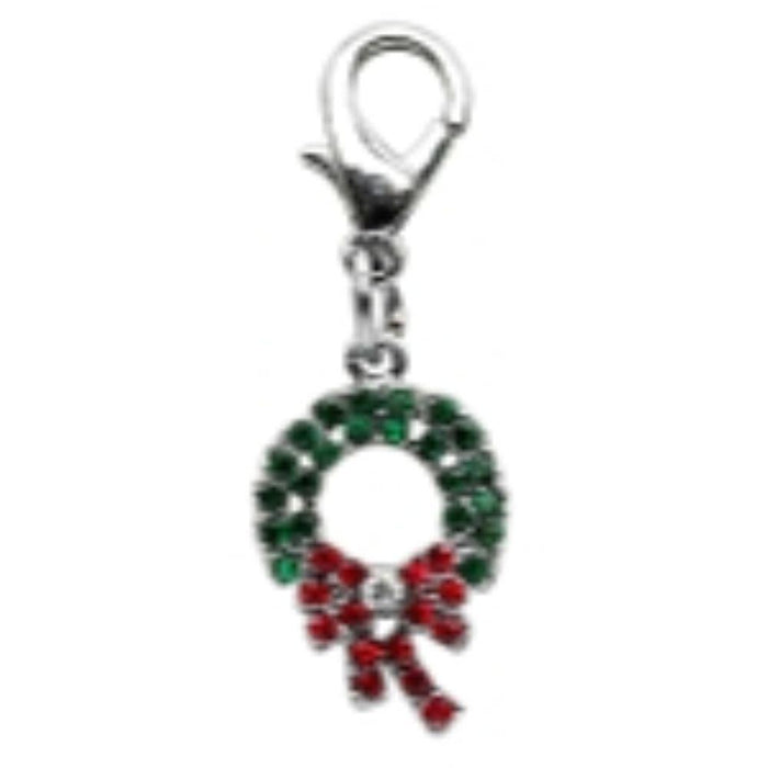 Holiday lobster claw charms / zipper pulls