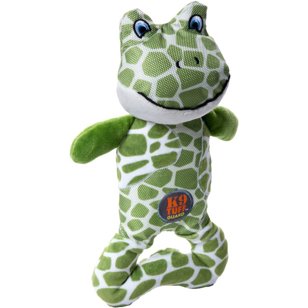 Patches Pattern Frog Dog Toy