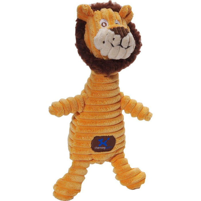 Squeakin' Squiggles Lion Dog Toy