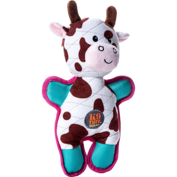 Tuffins Cow Dog Toy