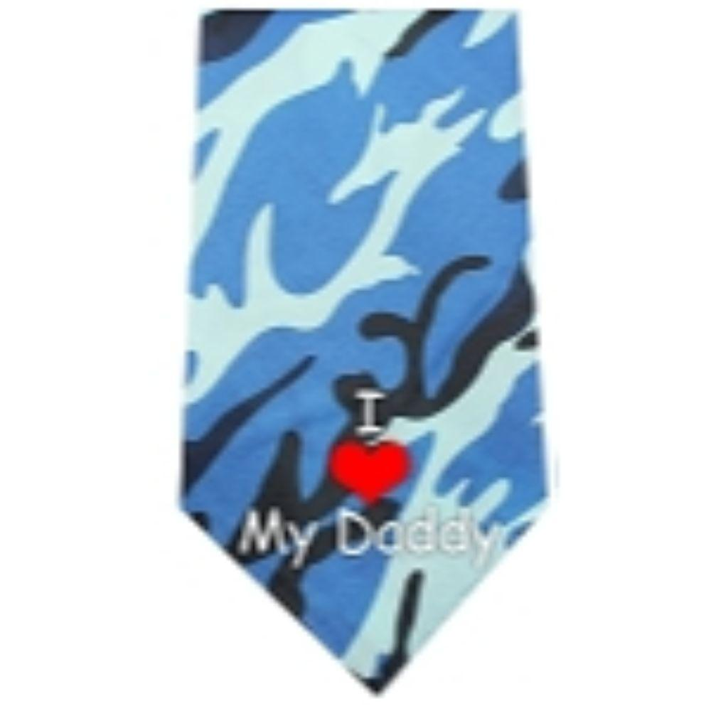 I Love Daddy Screen Print Bandana