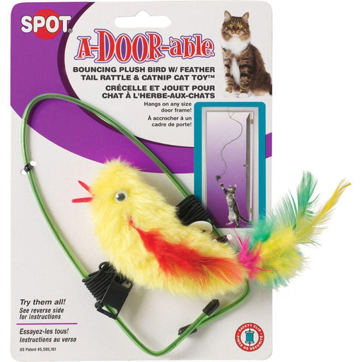 A-door-able Bouncing Feather Bird