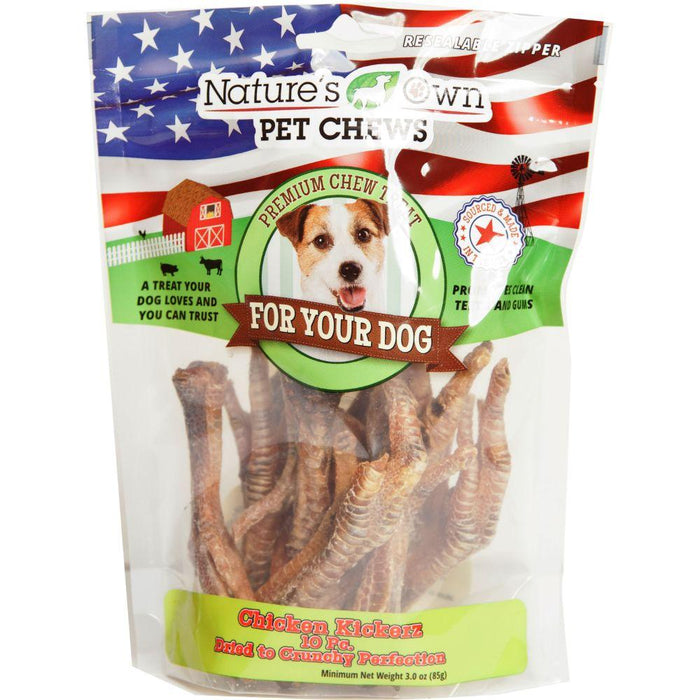 Nature's Own Usa Chicken Kickerz Dog Chew