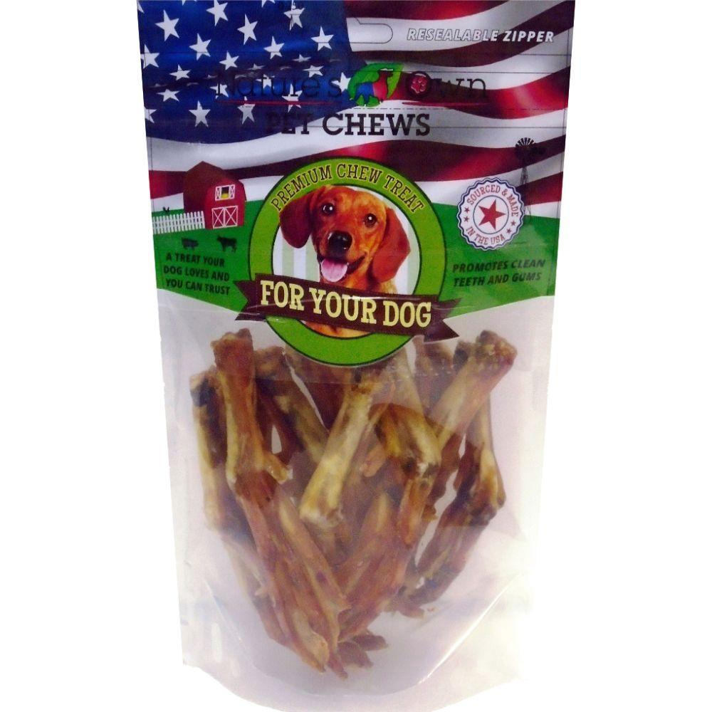 Usa Duck Crunchy Feet Natural Dog Treat