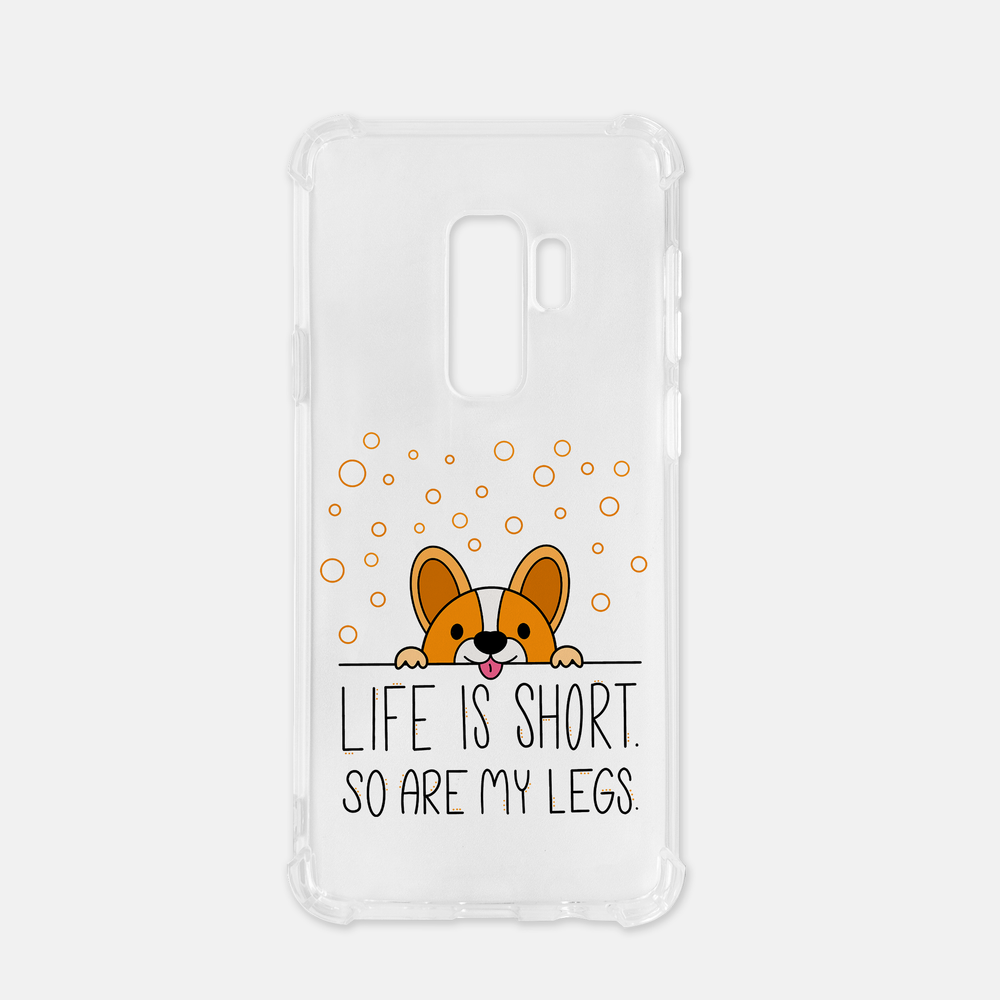 Life Is Short Samsung Galaxy S9 Plus Clever Case