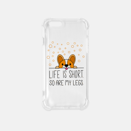 Life Is Short iPhone 6-6S Clear Case