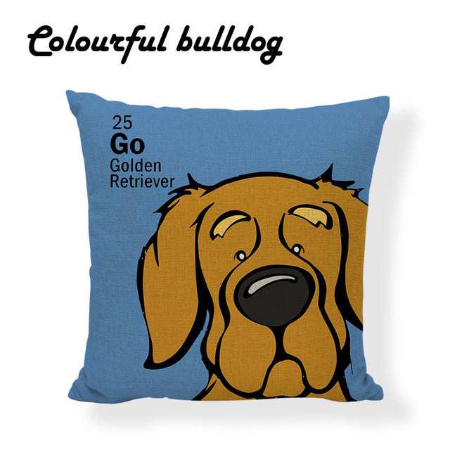 Colourful Pillow Covers