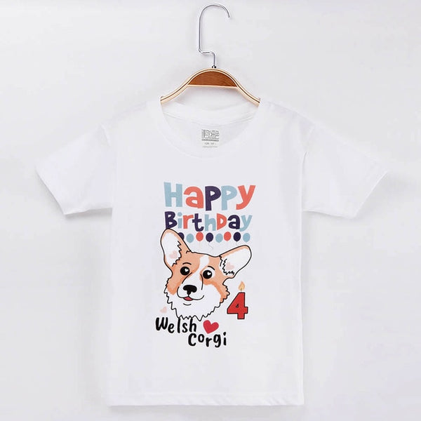 Happy Birthday T-shirt for Boys and Girl T-shirt