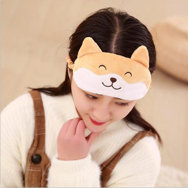 Corgi Sleep Mask