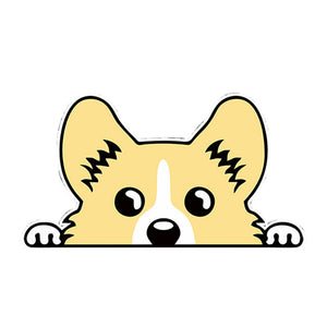 12.7*7.1CM Pembroke Welsh Corgi Sticker