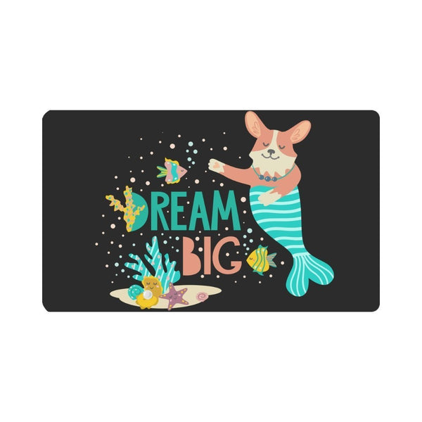 Dream Big Corgi Rug Anti-Slip