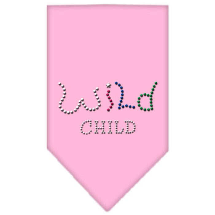 Wild Child Rhinestone Bandana