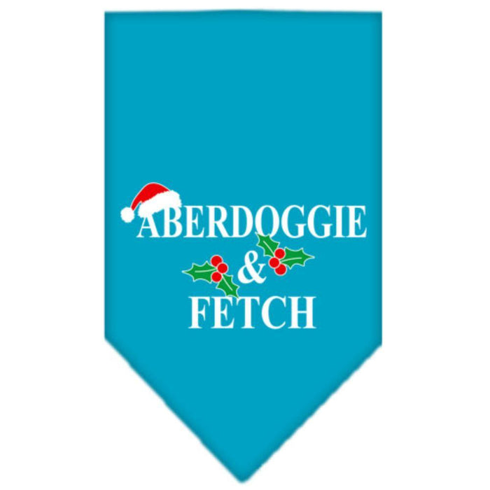 Aberdoggie Christmas Screen Print Bandana