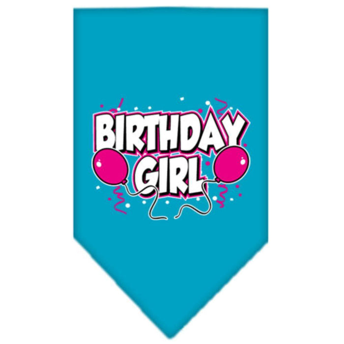 Birthday Girl Screen Print Bandana