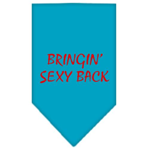 Bringin Sexy Back Screen Print Bandana