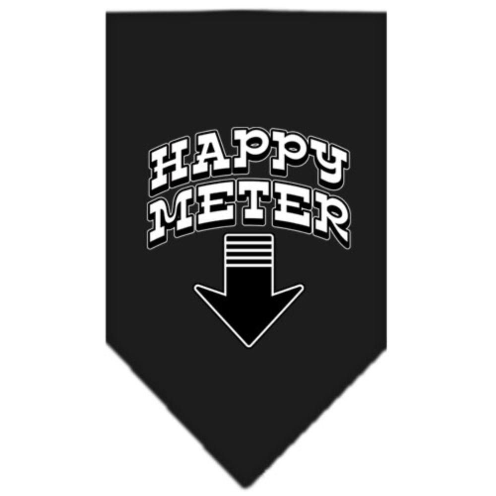 Happy Meter Screen Print Bandana